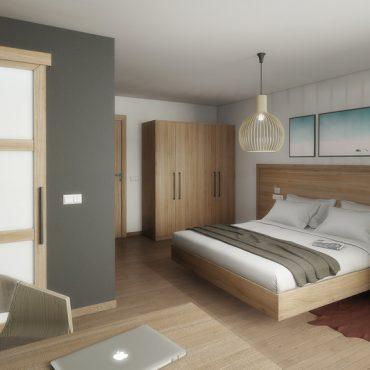 Rendering Konzept Alpenblick Hotel